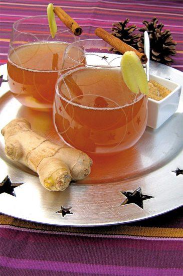 Heißes Ginger-Ale