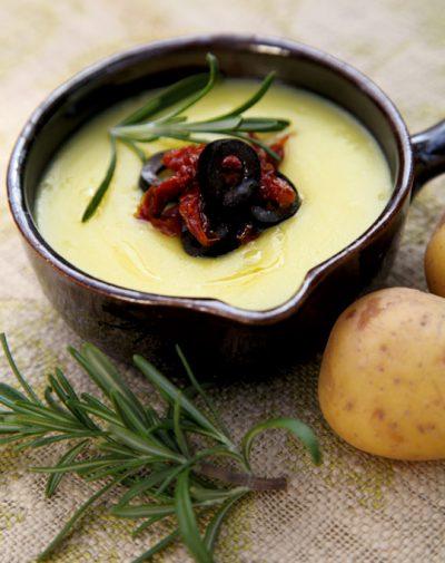 Italienische Kartoffelsuppe