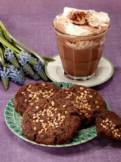 Schokocookies, vegan