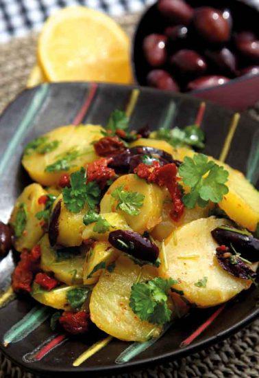 Kartoffelsalat, mediterran