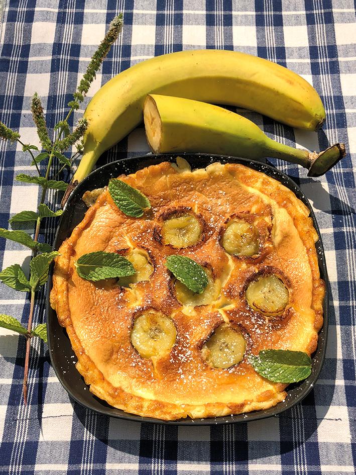 Bananen-Pancake