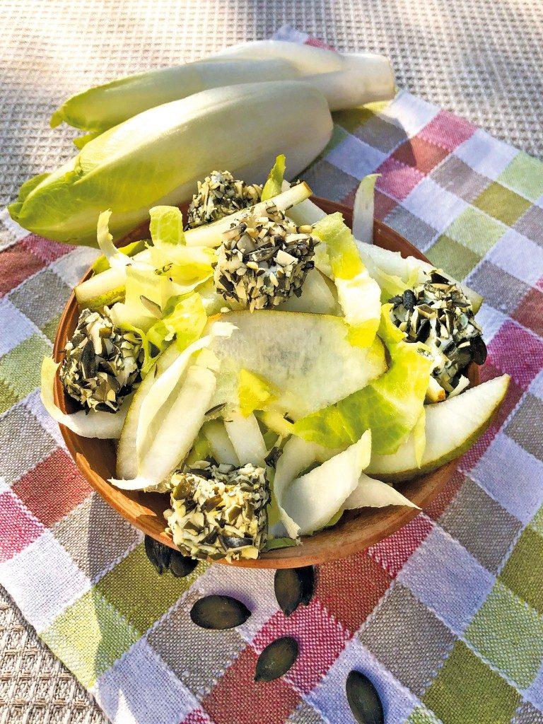 Chicoree-Birnen-Salat