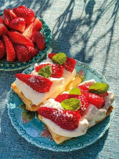 Erdbeerpasteten